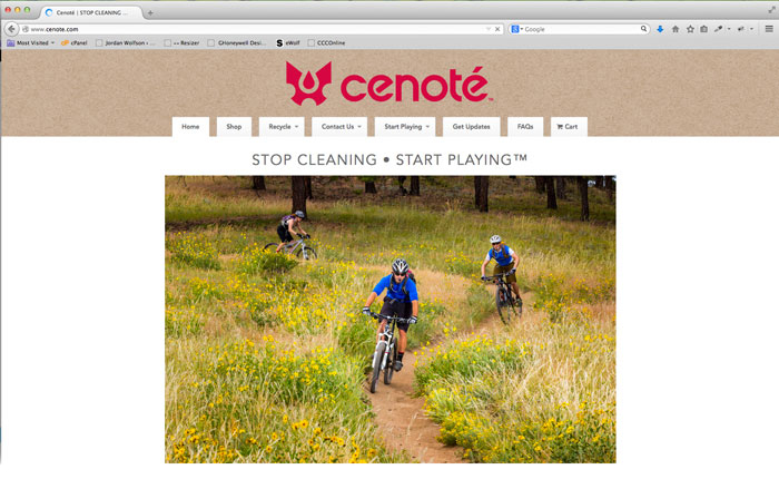 Cenote Hydration Systems Website